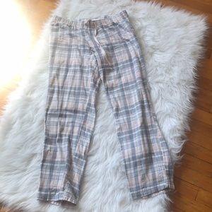 Gap Body Plaid Pajama Pants